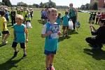 Fotbalový turnaj mateřských škol.