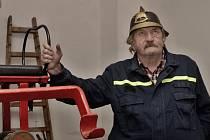 František Vycpálek, starosta milíčeveských hasičů.