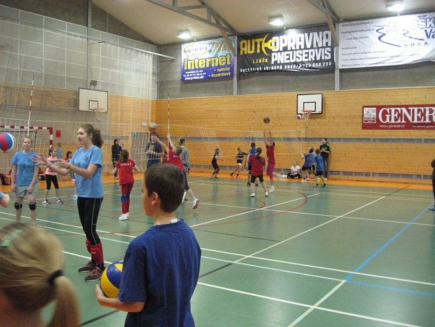 Volejbalový turnaj vNové Pace.