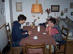 Ital Angelo s Helenou Hronovou.