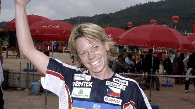 Úspěšná orientační běžkyně Dana Brožková.