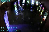Zloděj v jaroměřské herně.