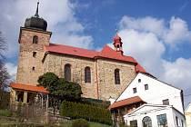 Kostel sv. Jiljí, Železnice