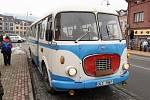 Projížďky historickým autobusem.