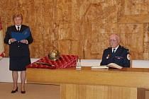 Zasloužilý hasič Jiří Imlauf.