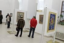 Výstava obrazů z depozitářů jičínského muzea.