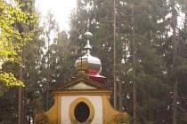 Kaplička v Miletínských Lázních.