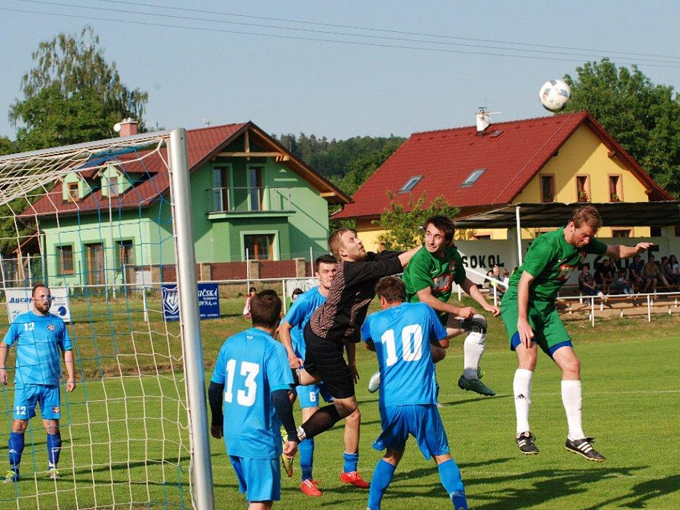 Krajská fotbalová I. B třída: TJ Sokol Železnice - TJ Dvůr Králové B.