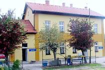 Vlakové nádraží v Kopidlně.