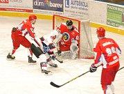 Krajská hokejová liga: HC Jičín - SK Třebechovice pod Orebem.