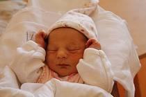 Mia Hudecová se směje na svět od 22. července, kdy se narodila s mírou 46 cm a váhou 2,8 kg. Radují se Simona Ondrášková a Jiří Hudec z Jičína. Ze sestřičky má radost i čtyřletý bráška Jirka.