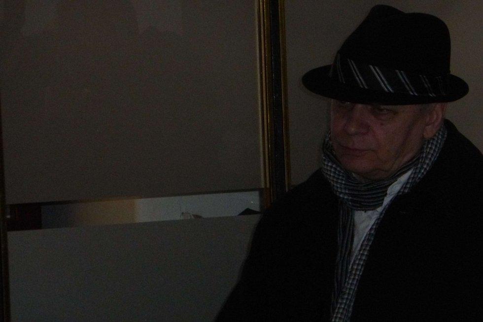 Z výstavy Richarda Náhlovského.