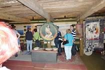 Výstava Josefa Sazamy a Josefa Vitáka v bukvické galerii.