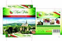 Návrh obalu čokolády Nové Paky.