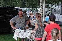 V sobotu 31. července se v Caravan Clubu v Lužanech u Jičína konala taneční zábava především pro ty malé a nejmenší ratolesti.