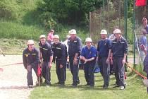 Libošovičtí hasiči.
