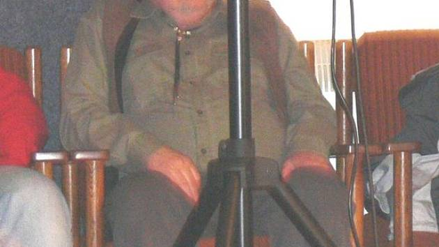 Nestor českého bluegrassu Jan Macák.