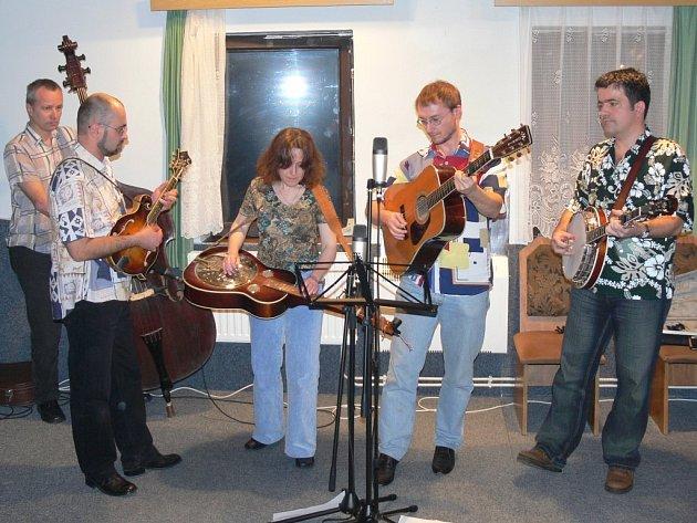 Hudební skupina Maňana Band.