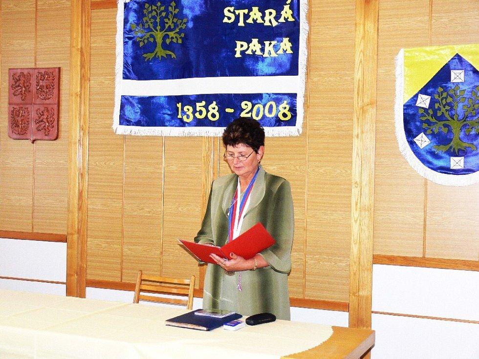 Jiří Ryba se stal čestným občanem Staré Paky.