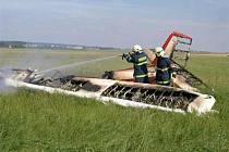 Havárie letadla u Hořic.