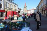 Farmářské trhy v Jičíně.