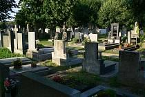Jičínský hřbitov.