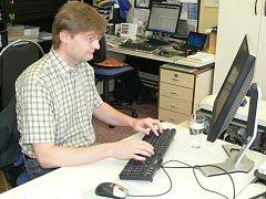 Jan Kaizr při on-line rozhovoru v naší redakci.