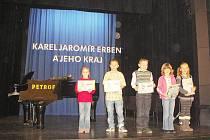 Milovické děti se účastnily soutěže s Erbenem.