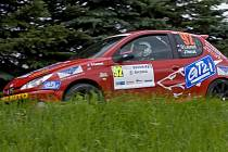 Dvojice Laurent – Venuš na Rally Bohemia 2011.