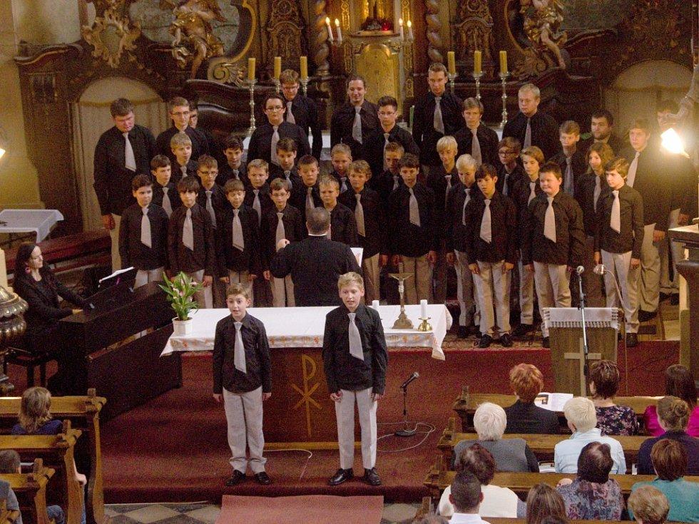 Koncert sboru Boni pueri.