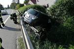Hasiči zasahovali u dopravní nehody na okraji Hořic.