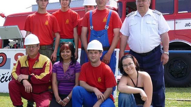 Hubálovští hasiči.