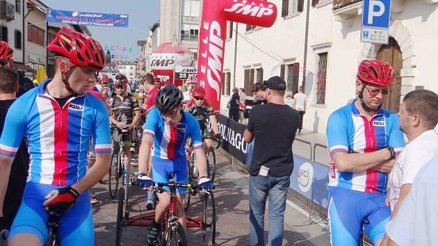 Světový pohár paracyklistů v Itálii.