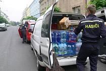 Pomoc z Jičína míří na Moravu.