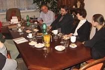 Setkání bývalého sdružení Lodžie u starosty.