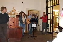 Muzejní noc v jičínském muzeu zahájená vernisáží výstavy.
