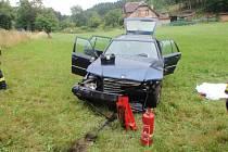 Tragická dopravní nehoda u Štikova.