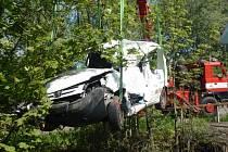 Tragická dopravní nehoda u Kumburského Újezdu