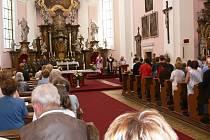 V jičínském kostele sv. Jakuba se konala bohoslužba vyslání.