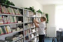 Knihovna ve Střevači.