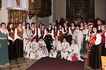 Koncert souboru Pifferaios v bělohradském kostele.