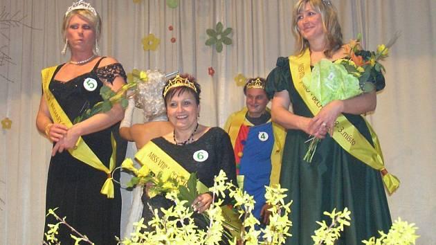 Vítězky běcharské soutěže Miss vtip.