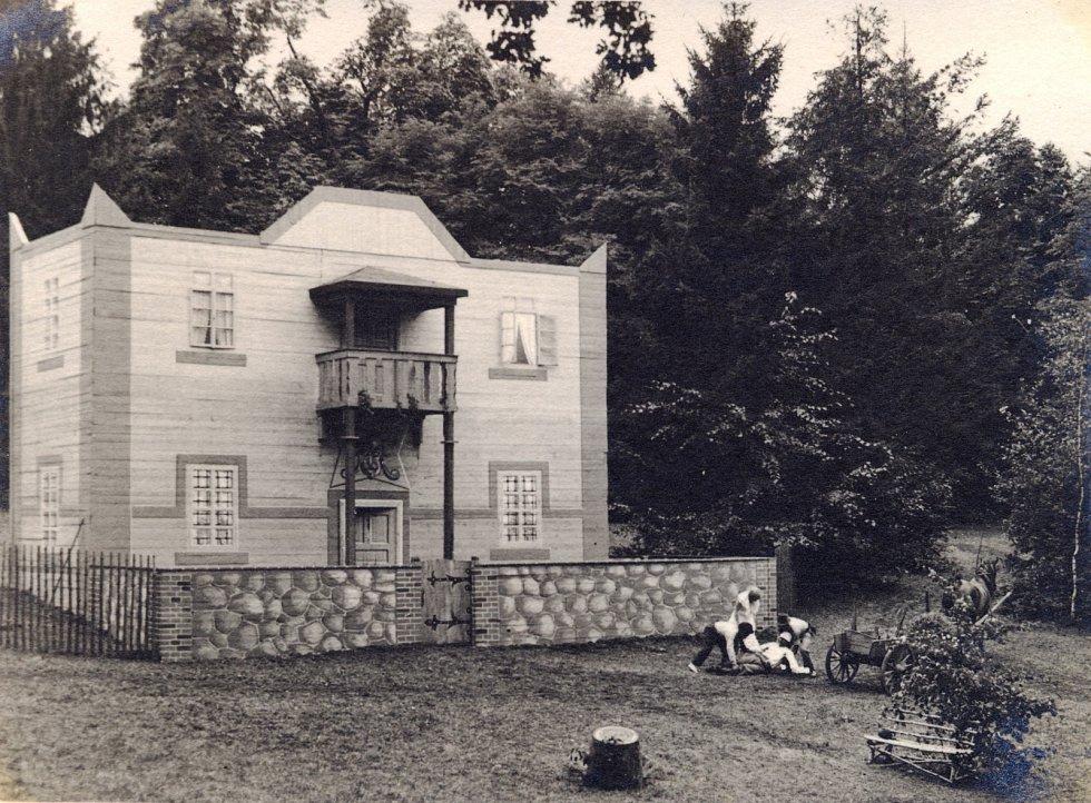Přírodní divadlo v Kopidlně.