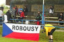 Z okresního přeboru mužů Robousy - Podhradí.