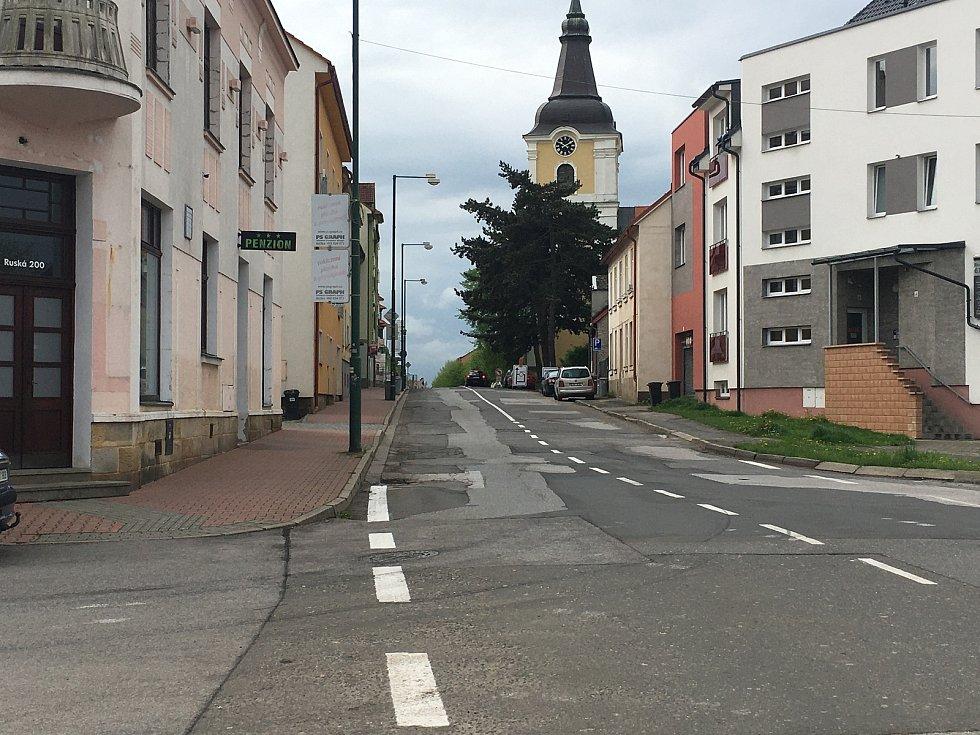 Ulice Ruská.