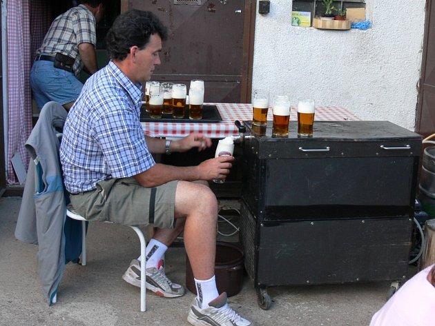 Pivo je nejlepší točené.