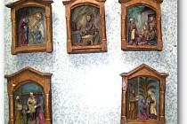 Odcizené předměty z miletínského muzea.
