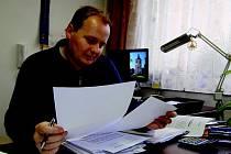 Miletínský starosta Miroslav Nosek.