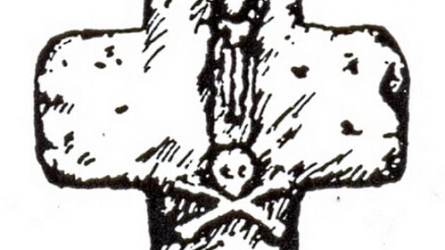 Smírčí kříž - ilustrace.