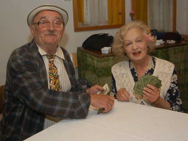 Josef Somr a Blanka Bohdanová.
